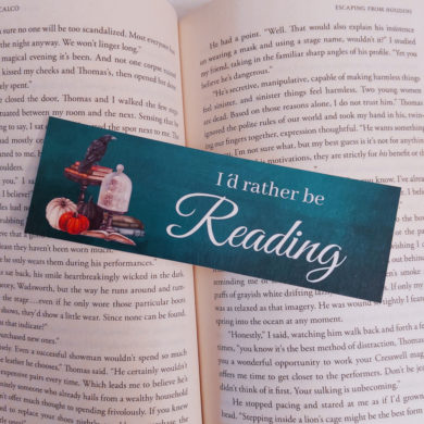 I´d rather be reading